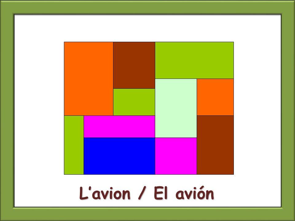 Lavion / El avión