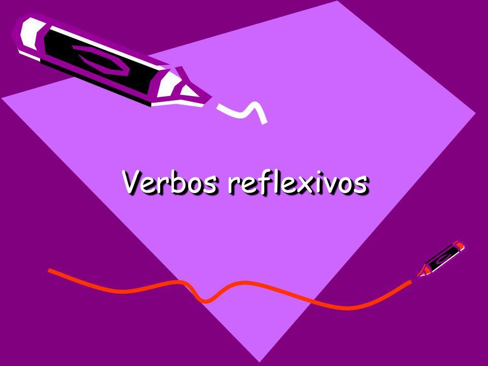 Los verbos reflexivos Lavarse Yo Tú Ud./él/ella Nosotros/as Vosotros/as Uds./ellos/ellas me lavo te lavas se lava nos lavamos os laváis se lavan