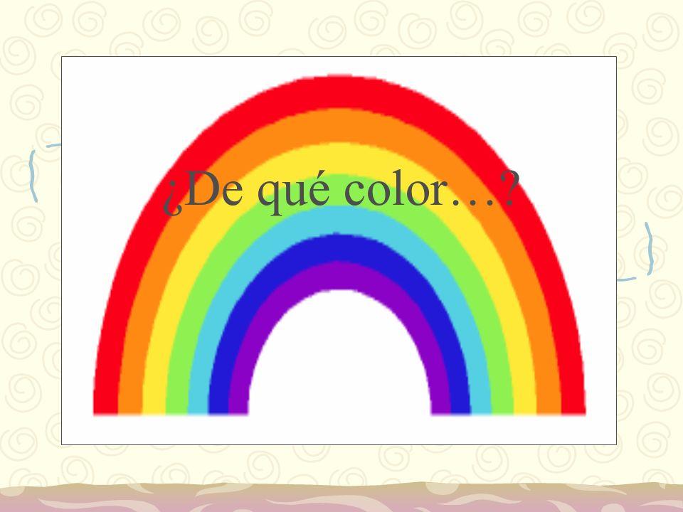 ¿Sabes ya todos los nombres de los colores.
