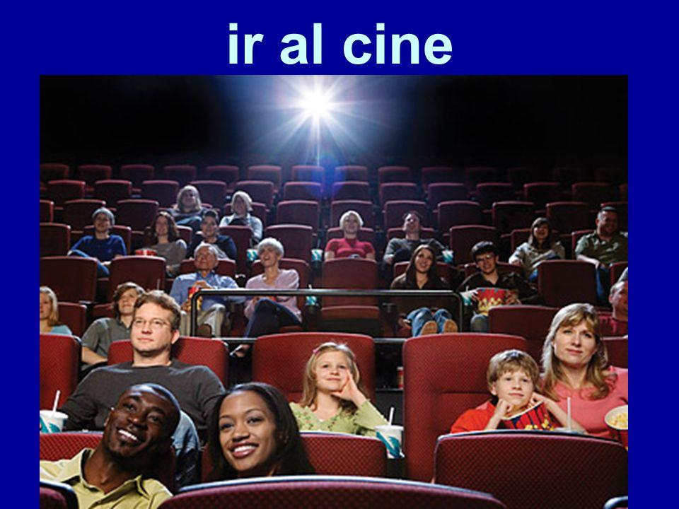 ir al cine