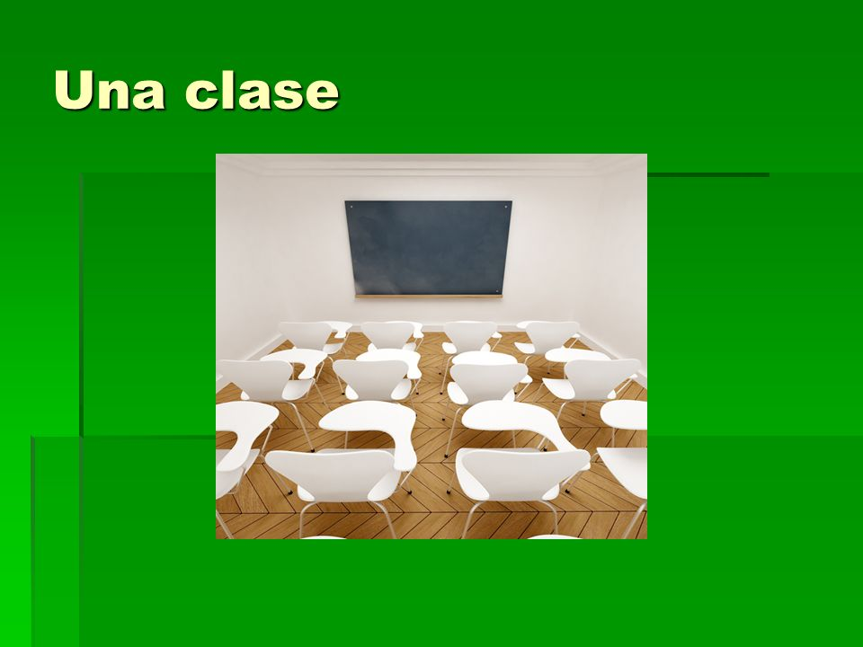 Una clase