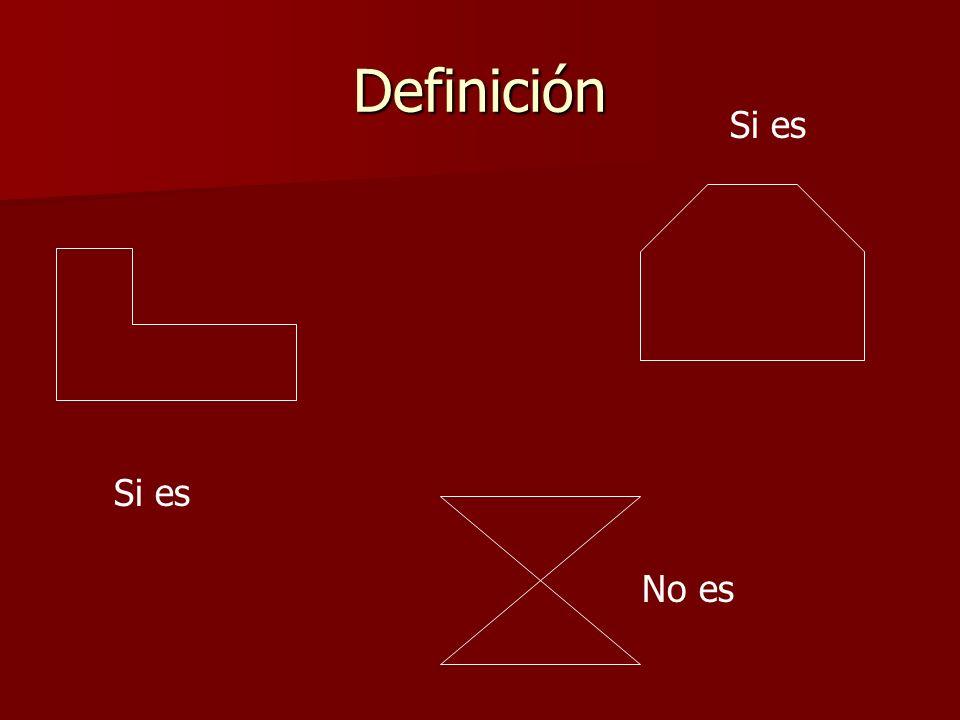 Características A B G C D F a los segmentos se les llama lados a las intersecciones, vértices Menciona un polígono que hemos discutido: Triángulo interior exterior