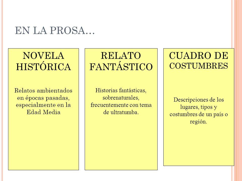E L TEATRO ROMÁNTICO EN E SPAÑA El teatro es el campo de batalla de las innovaciones del Romanticismo.
