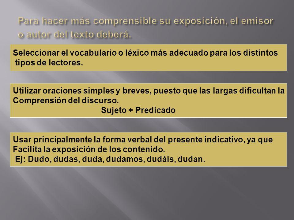 Introducción: Es la parte inicial de un texto y la que presenta o delimita el tema de exposición.
