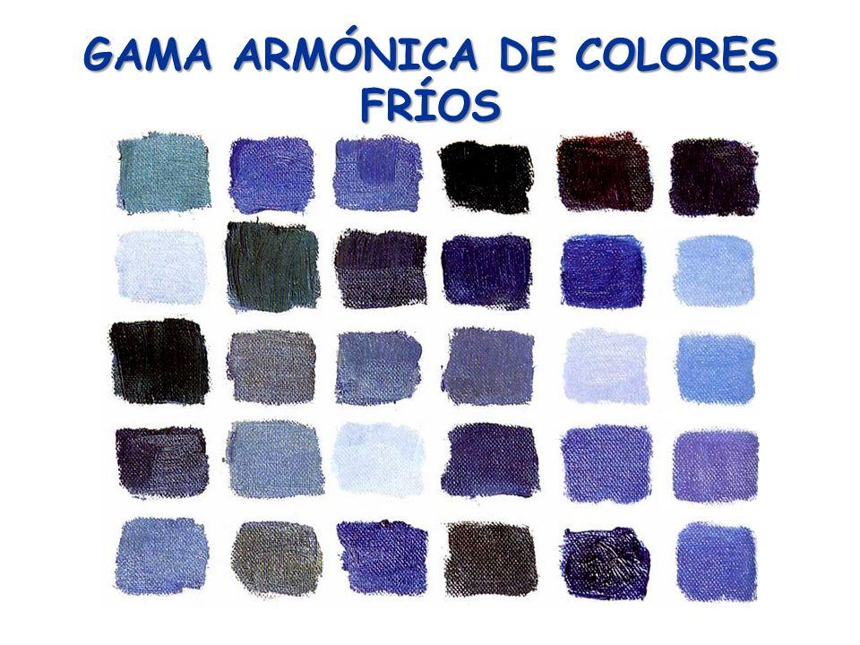 GAMA ARMÓNICA DE COLORES FRÍOS