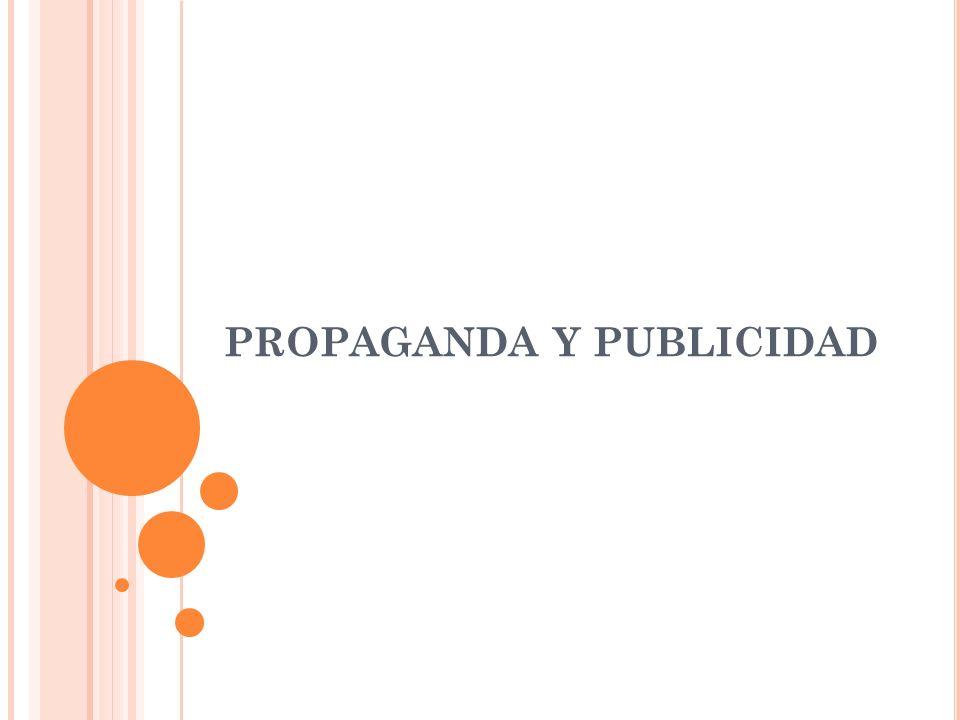Publicidad Propaganda