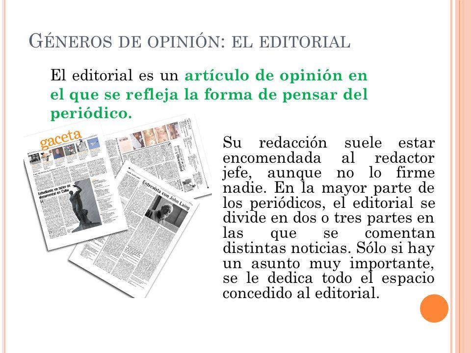 G ÉNEROS INFORMATIVOS : LA CRÓNICA La crónica es la narración sobre hechos de actualidad, como por ejemplo hechos culturales, deportivos, políticos, e