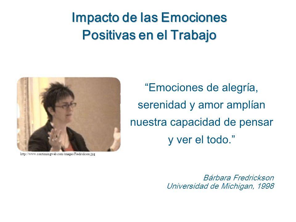 Las personas que experimentaron emociones positivas pudieron hacer más asociaciones creativas.