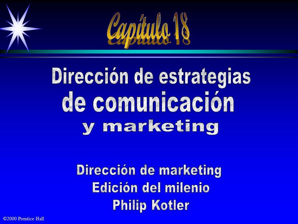 ObjetivosObjetivos ä El proceso de comunicación ä Desarrollo de comunicaciones efectivas ä Decisión del mix de comunicación de marketing ä Dirección y coordinación de la comunicación integral de marketing