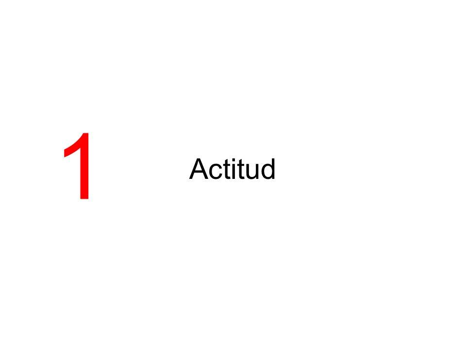 1 Actitud
