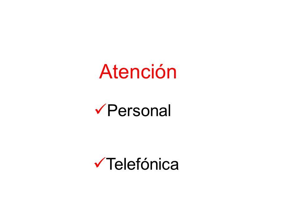 Atención Personal Telefónica