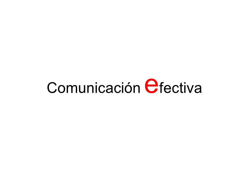 Comunicación e fectiva