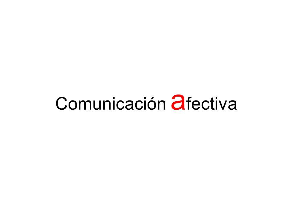 Comunicación a fectiva