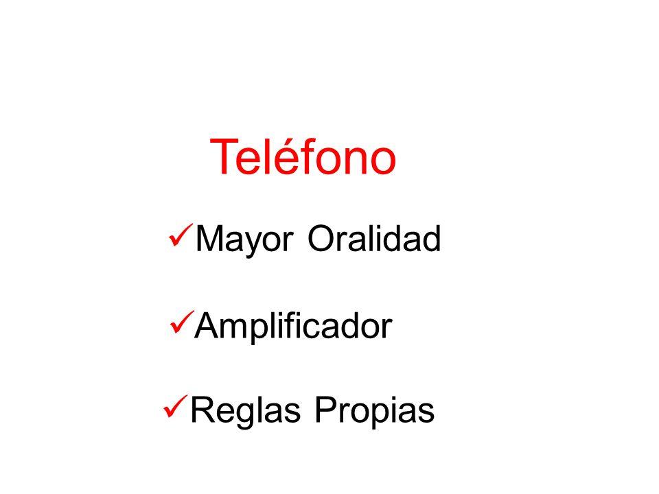 Teléfono Mayor Oralidad Amplificador Reglas Propias