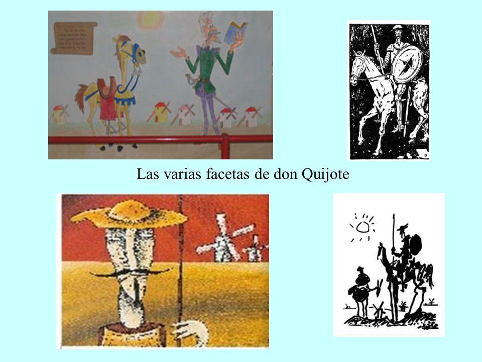 Las varias facetas de don Quijote
