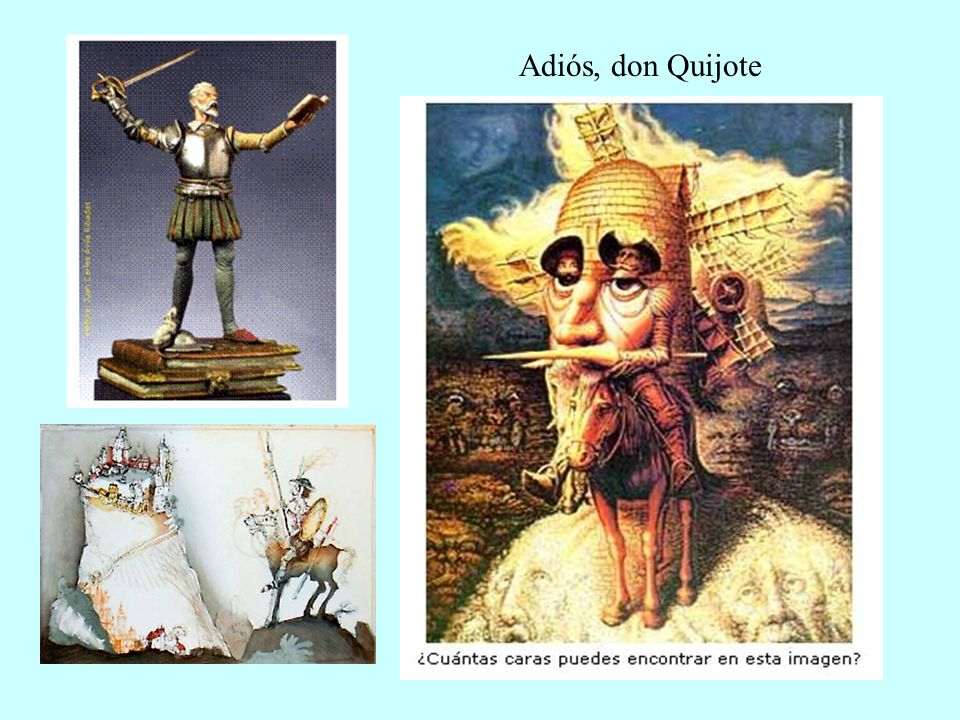 Adiós, don Quijote