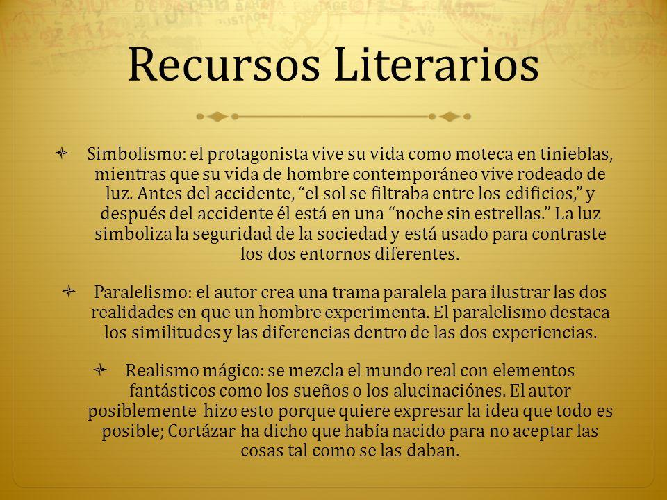 Recursos Literarios Presagiando: el narrador insinúa varias veces que el final estaba cerca.