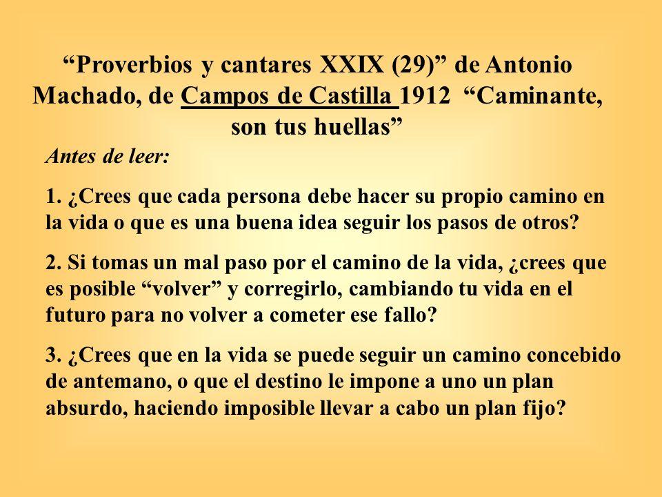 Campos Castilla Antonio Machado Antonio Machado de Campos