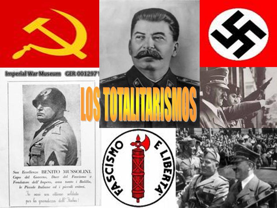 ¿Qué son los Totalitarismo.