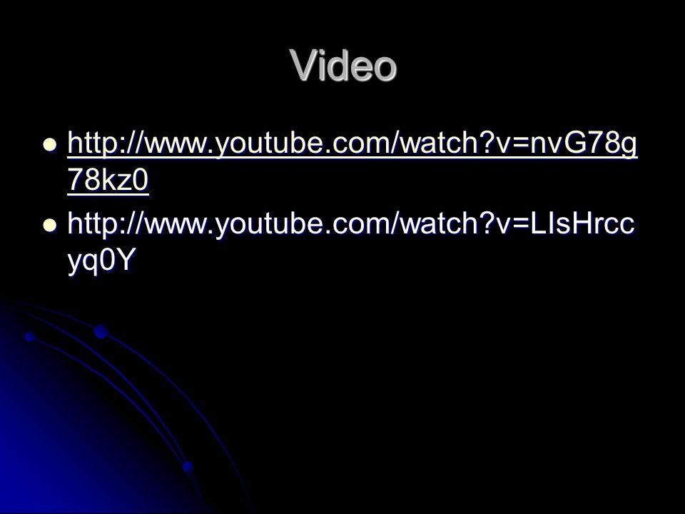 Video http://www.youtube.com/watch?v=nvG78g 78kz0 http://www.youtube.com/watch?v=nvG78g 78kz0 http://www.youtube.com/watch?v=nvG78g 78kz0 http://www.y