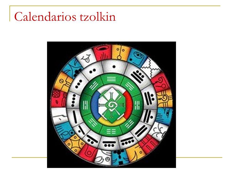 Calendarios tzolkin
