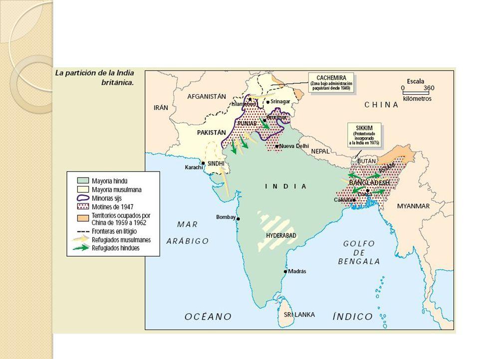 En 1929 Ali Jinnah se puso a la cabeza de los musulmanes indios.