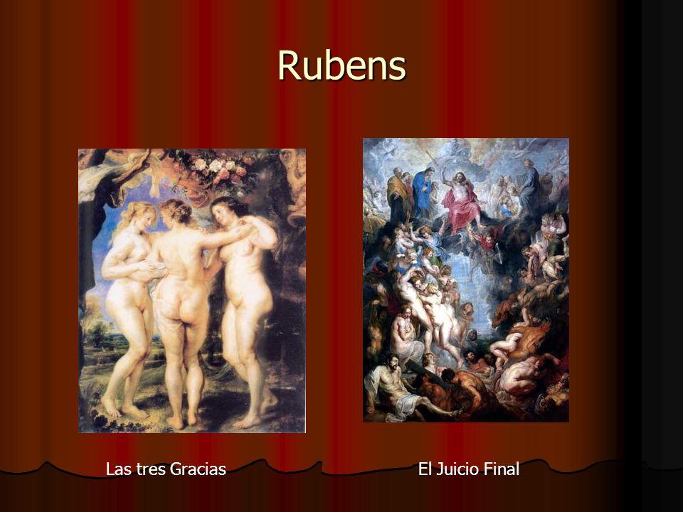 Rubens Las tres GraciasEl Juicio Final