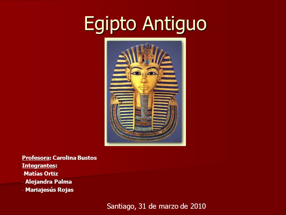 Mapa Conceptual Egipto Antiguo 3.150 AC hasta 31 AC ¿Cuando.