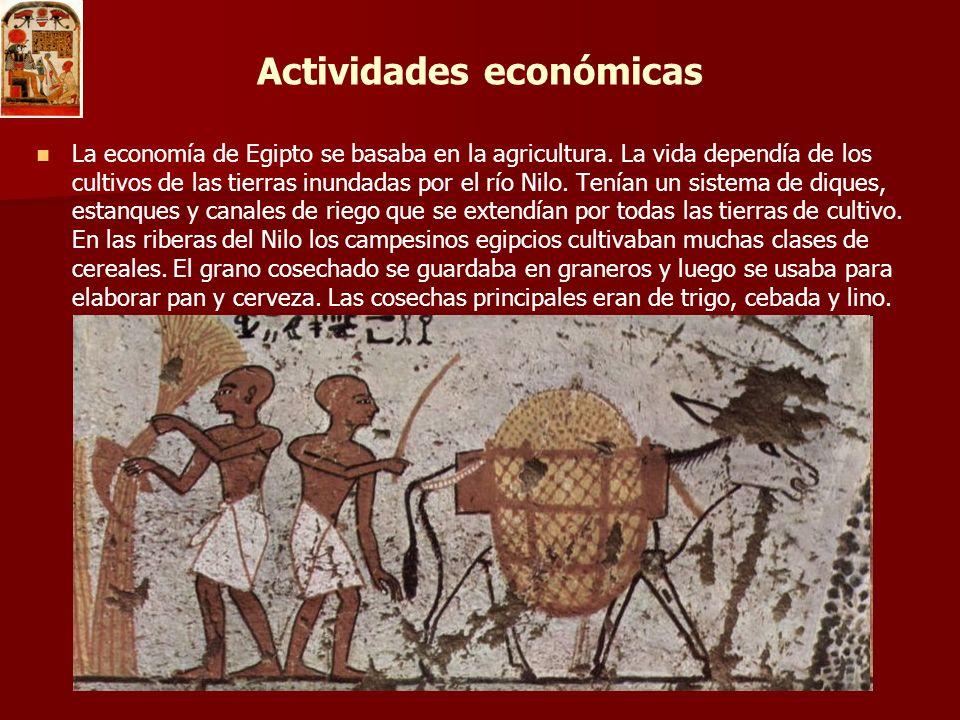 Ciudades La lista de ciudades del Antiguo Egipto se ha elaborado con nombres griegos