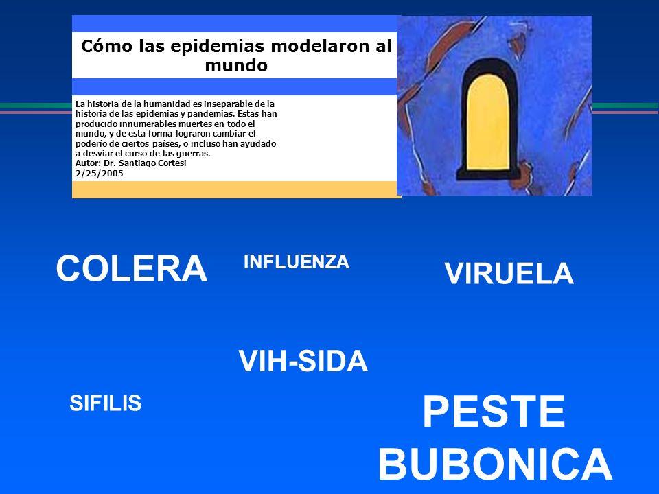 Cómo las epidemias modelaron al mundo La historia de la humanidad es inseparable de la historia de las epidemias y pandemias. Estas han producido innu