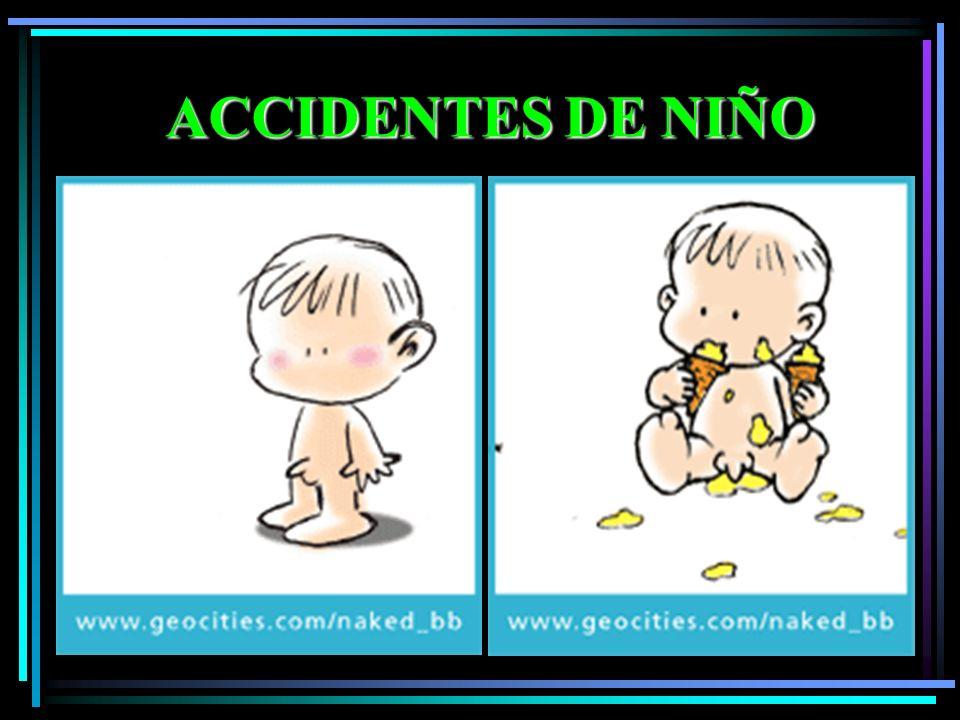 ACCIDENTES DE NIÑO