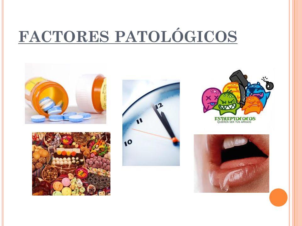FACTORES PATOLÓGICOS