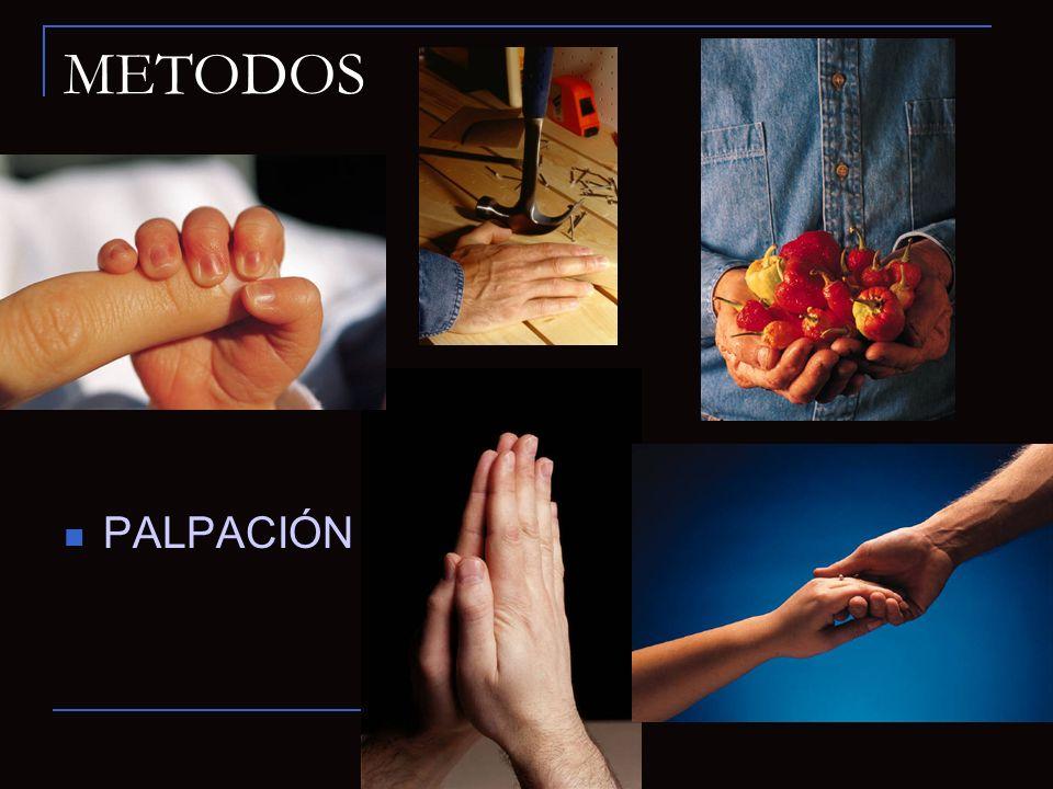 METODOS PALPACIÓN INTRABUCAL EXTRABUCAL