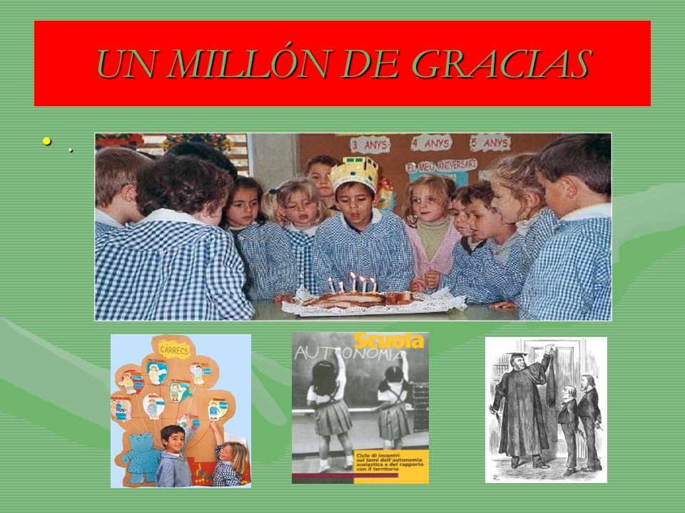 UN MILLÓN DE GRACIAS.