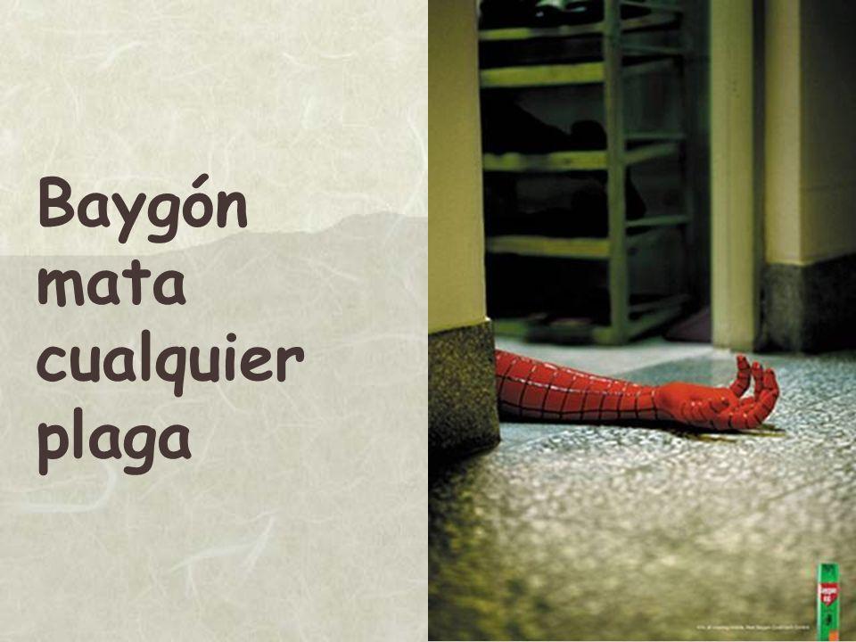 Baygón mata cualquier plaga