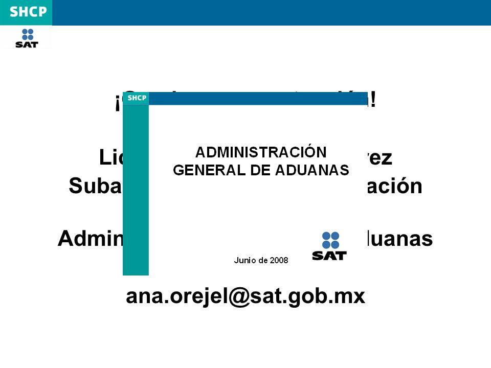 Contactos Administración de Tratados Comerciales MIFIC, sigridm@mific.gob.ni sigridm@mific.gob.ni Secretaria de Economía México, arodgz@economia.gob.mx arodgz@economia.gob.mx Secretaria de Economía (Normas), mpastran@economia.gob.mx mpastran@economia.gob.mx Dirección de Aduanas, ana.orejel@sat.gob.mxana.orejel@sat.gob.mx www.economia.gob.mx (negociaciones comerciales internacionales, foros de negocio).www.economia.gob.mx www.bancomext.gob.mx foros de negocioswww.bancomext.gob.mx www.sepomex.gob.mx, paquetes postales.www.sepomex.gob.mx
