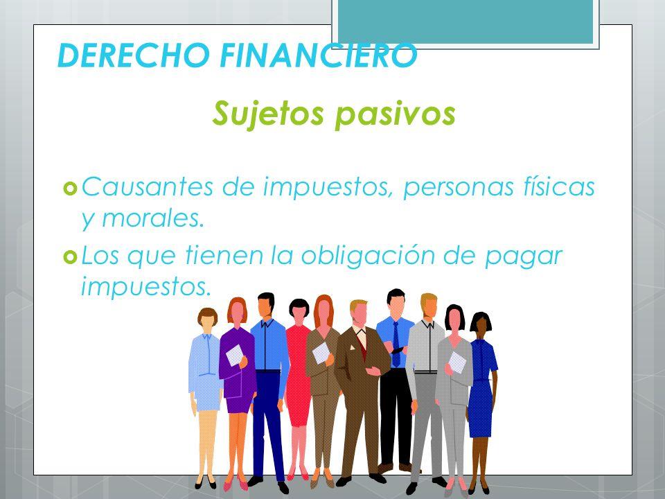 DERECHO FINANCIERO Requerimientos fundamentales Capacidad.