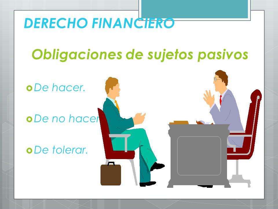 DERECHO FINANCIERO 4 Requerimientos Constitucionales.