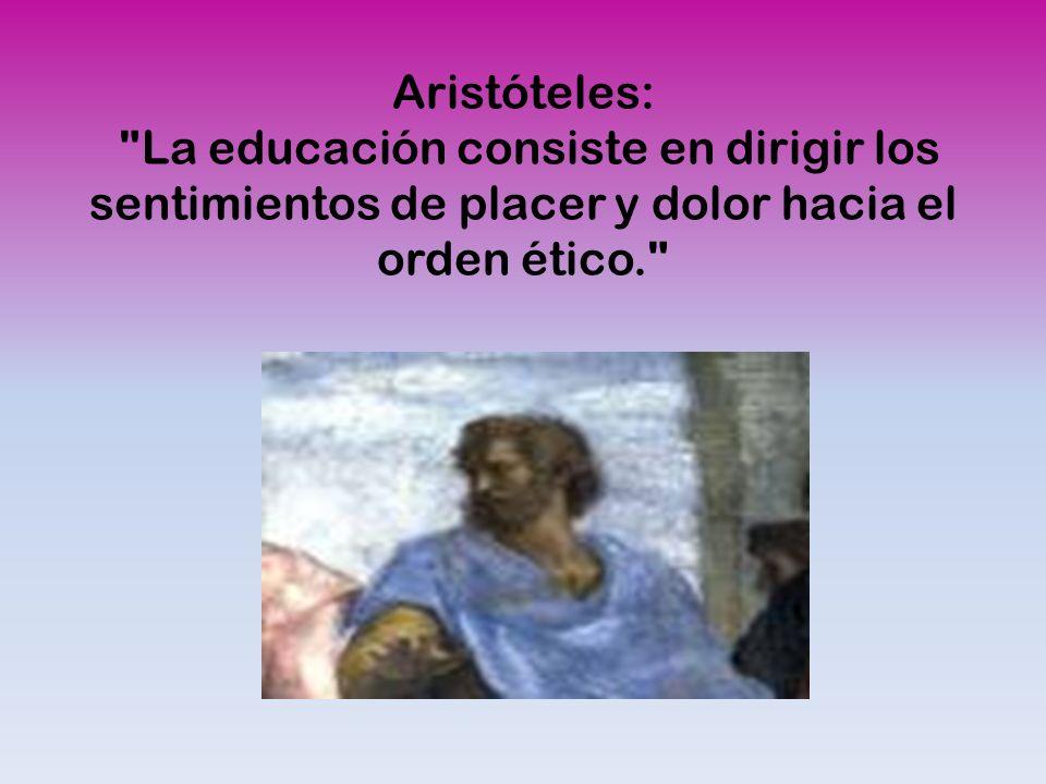 Aristóteles: