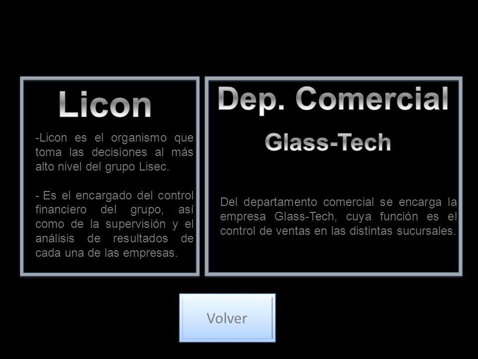 -Licon es el organismo que toma las decisiones al más alto nivel del grupo Lisec. - Es el encargado del control financiero del grupo, así como de la s