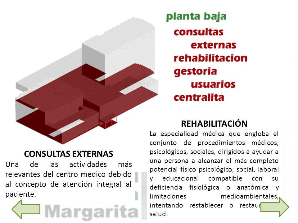 REHABILITACIÓN La especialidad médica que engloba el conjunto de procedimientos médicos, psicológicos, sociales, dirigidos a ayudar a una persona a al