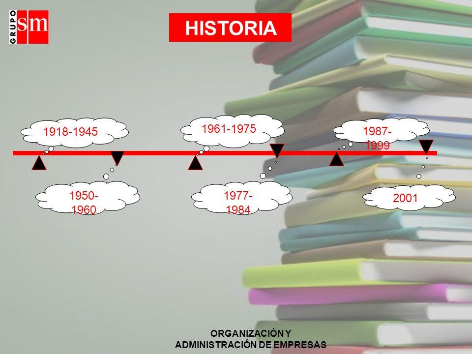 ORGANIZACIÓN Y ADMINISTRACIÓN DE EMPRESAS ANÁLISIS ECONÓMICO (I) El mercado de los libros de texto en la enseñanza no universitaria en España facturó en torno al 20 % del volumen total de facturación de libros vendidos en el país.