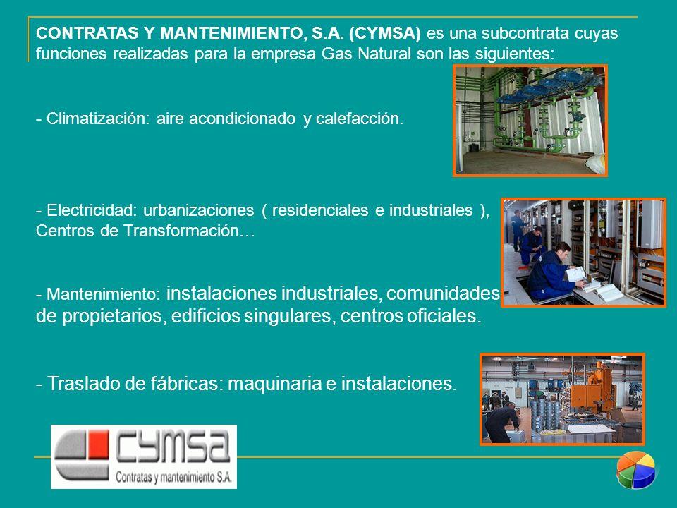 CONTRATAS Y MANTENIMIENTO, S.A.
