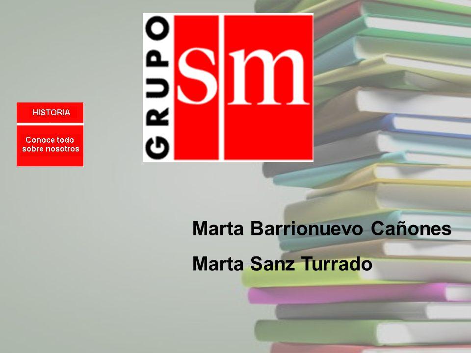 Marta Barrionuevo Cañones Marta Sanz Turrado