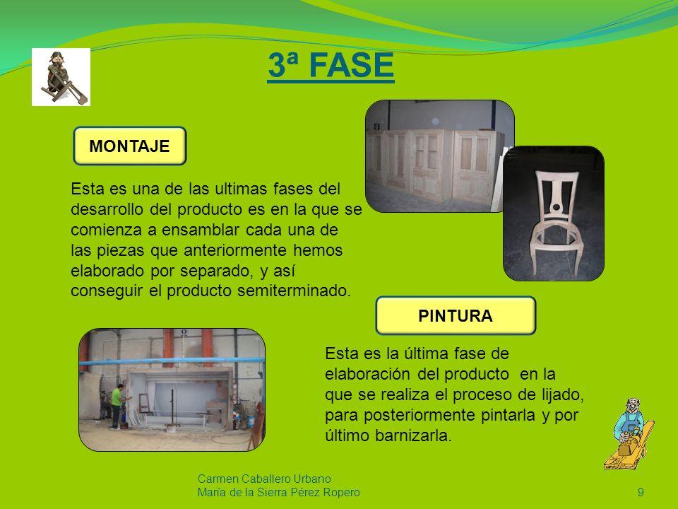 4ª FASE Carmen Caballero Urbano Maria de la Sierra Pérez Ropero10 Proceso de gran relevancia ya que su buena ejecución conlleva que el futuro comprador reciba el producto en el estado de conservación que requiere el cliente.