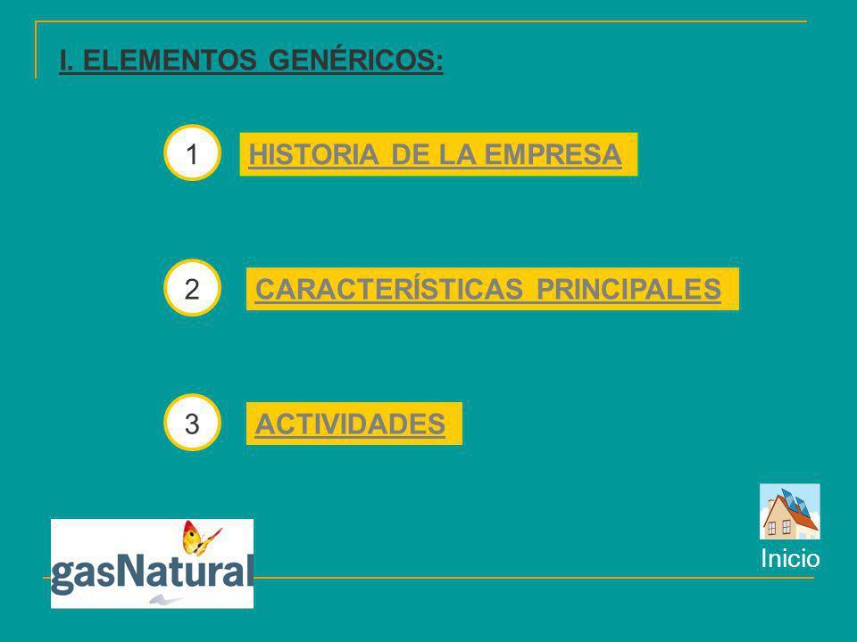 La empresa Gas Natural es de tipo servicios, ya que su actividad se centra en la prestación de servicios a clientes.