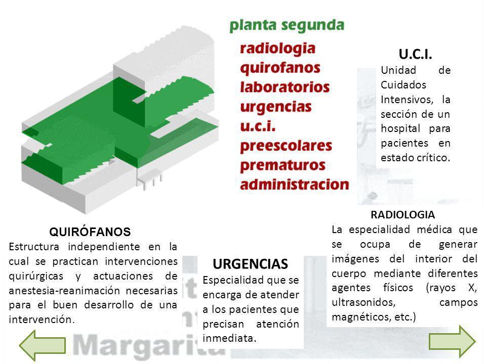 RADIOLOGIA La especialidad médica que se ocupa de generar imágenes del interior del cuerpo mediante diferentes agentes físicos (rayos X, ultrasonidos,