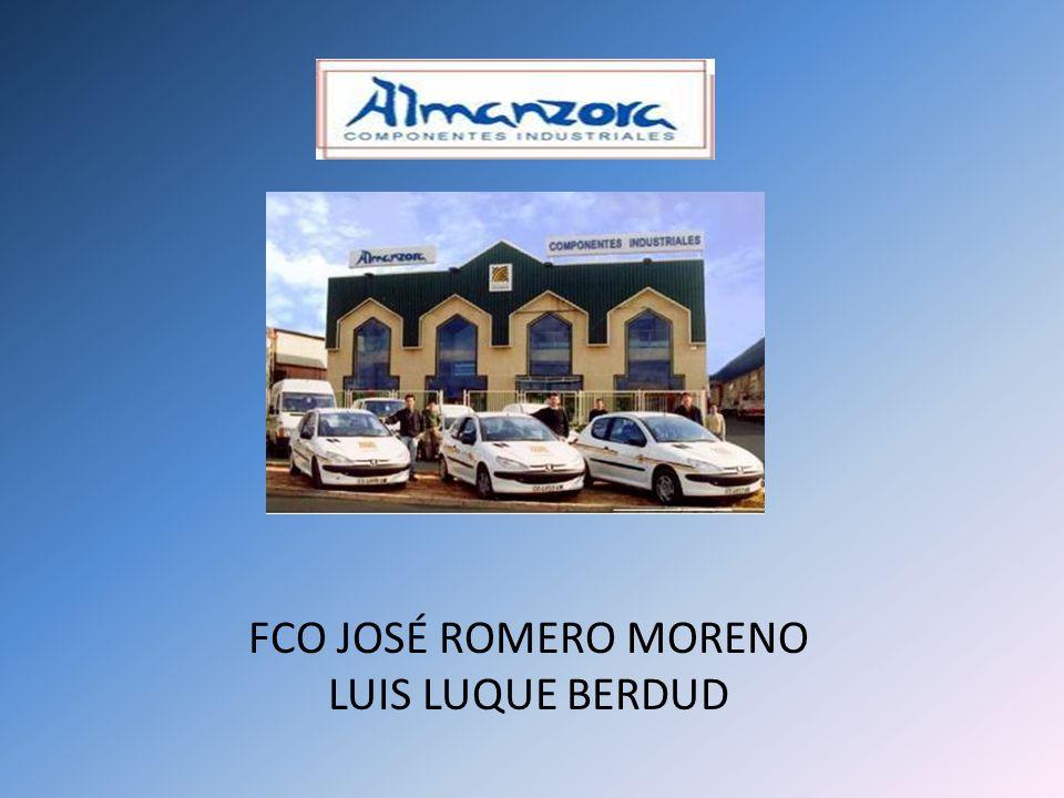 FCO JOSÉ ROMERO MORENO LUIS LUQUE BERDUD