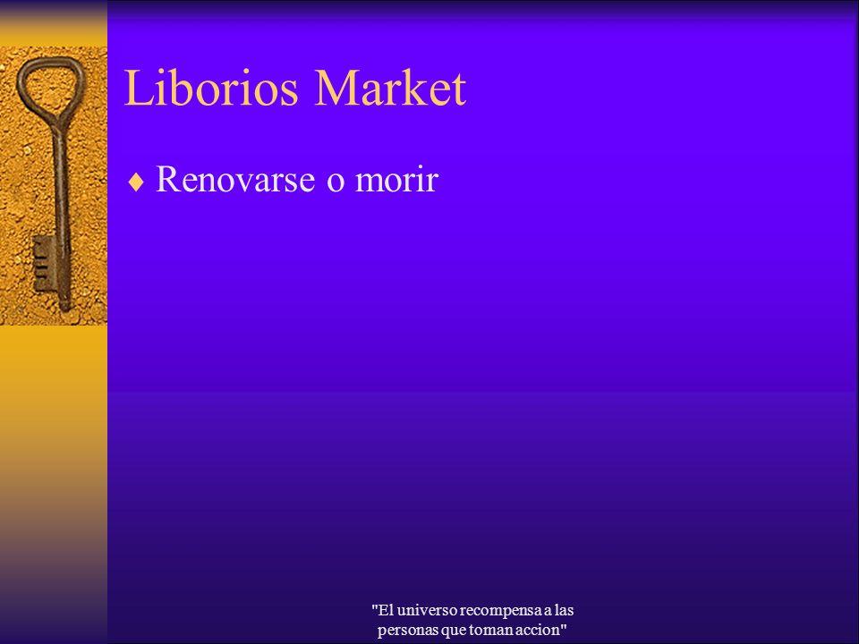 Liborios Market Renovarse o morir