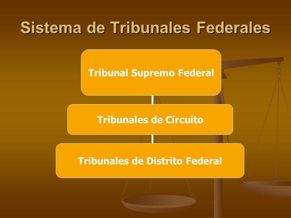 Sistema de Tribunales Federales Tribunales de Circuito